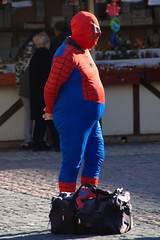 Spider-Man vs Beer Belly