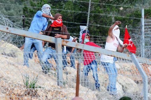 Bil'in Riot, January 7 2011