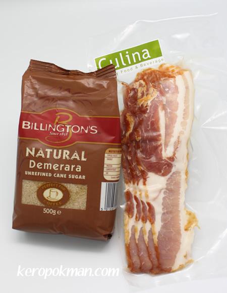 Brown Sugar and Paprika Streaky Bacon - Ang Moh Bak Kwa