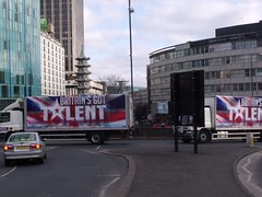 Holloway Circus - Britain's Got Talent lorries