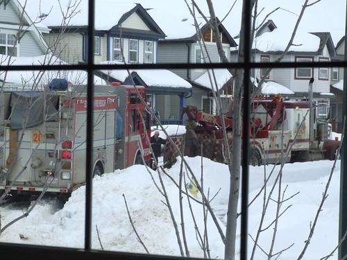 Firetruck hauling