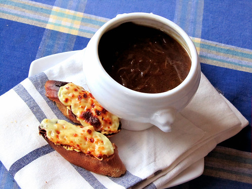 The great French Onion Soup experiment