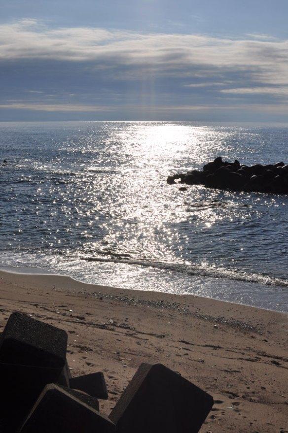 まばゆい午後の海~笹川流れ
