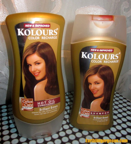 New Improved Kolours Color Recharge Hot Oil and Shampoo