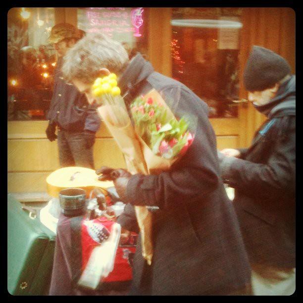 shopper on brick lane east london