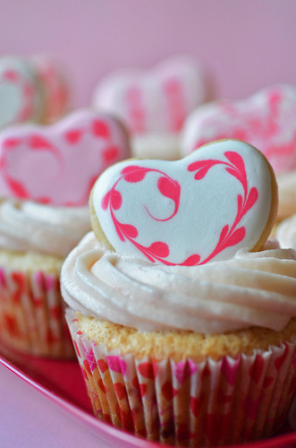 Valentines Strawberry Cupcakes2
