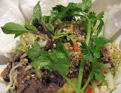 Beef salad (@Sapa - Cuisine du Vietnam, Hamburg)