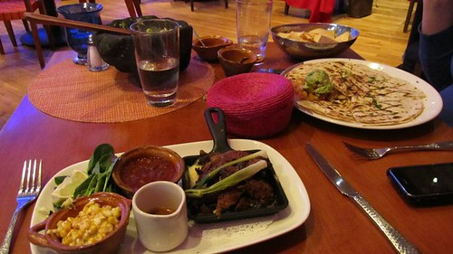 Lunch at Rosa Mexicano