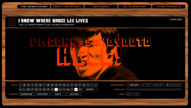 I know where Bruce Lee lives - by SKOP