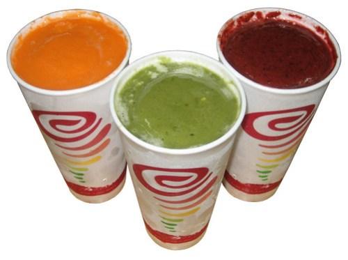 Jamba Juice Fruit & Veggie Smoothies