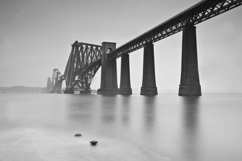 Forth Bridge and Mist
