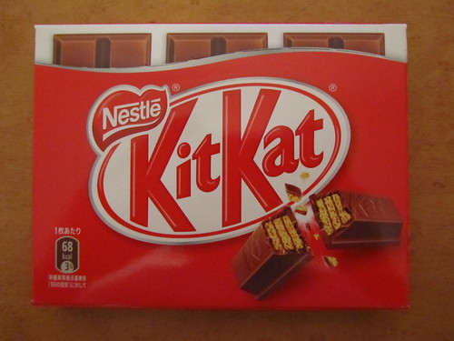 Regular Kit Kat (new packet design)