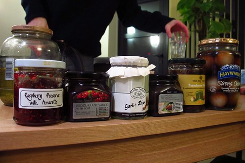 Some of our preserves and pickles