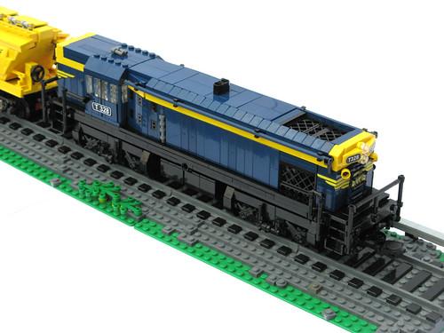 T class diesel-electric locomotive (flat top)
