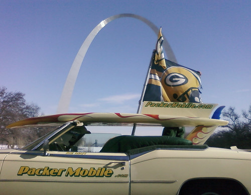 Packer Flag_Arch by Jefferson National Expansion Memorial, NPS, on Flickr