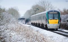 Intercity in Winter (16:10 Wallpaper)