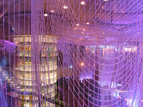 the chandelier at the cosmopolitan