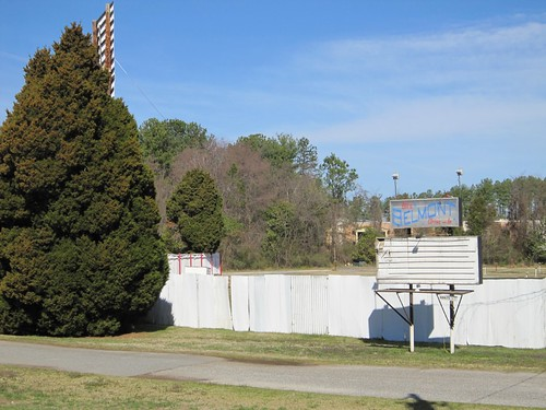 Belmont Drive In Sign