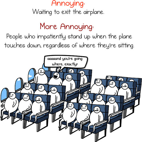 The Oatmeal = The Crap We Put Up With Getting On & Off An Airplane
