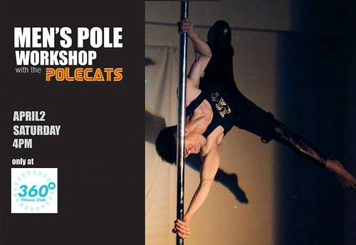 Men's Pole Class at 360