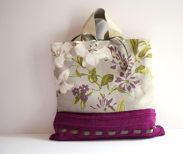 Lily - floral bag