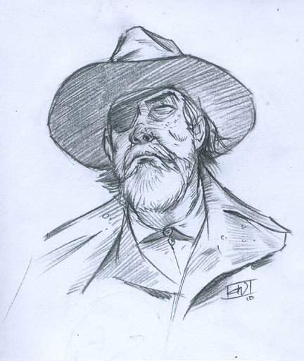Rooster Sketch432