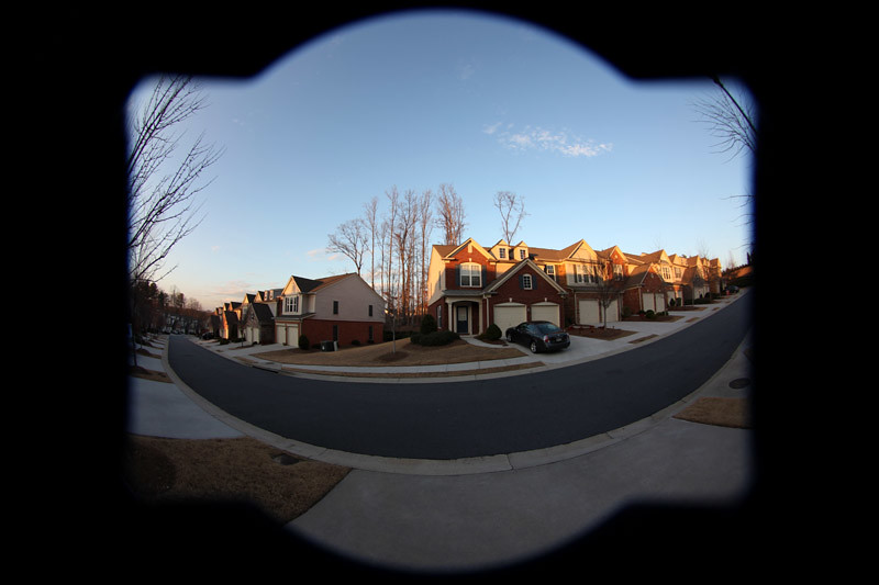 Full Frame Fisheye Fail