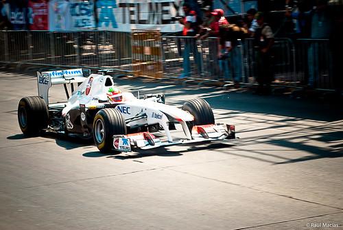 Checo Perez Sauber