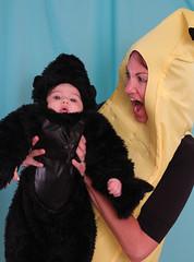 Chiquita Banana Eats Donkey Kong for Revenge by happyjoelmoss