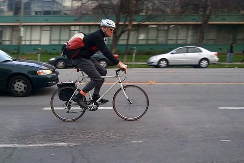 City cyclist San Jose
