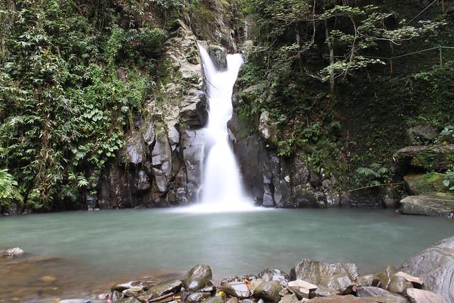 1st waterfalls at Mambukal Resort