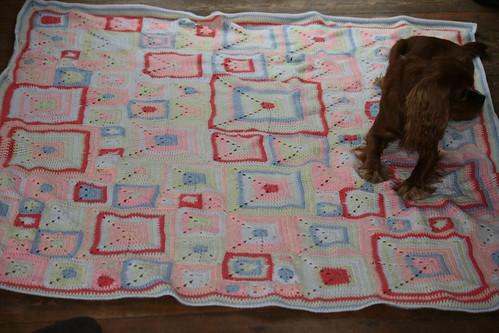 FO: Babette Blanket (2/4)