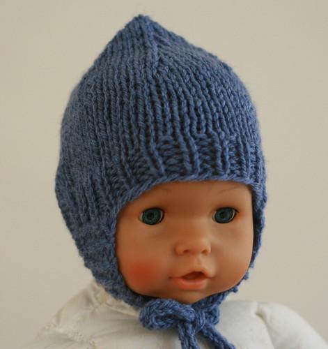 Elfin Earflap Hat. Flannel.