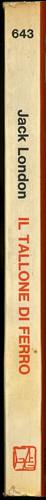 Jack London, Il tallone di ferro. Feltrinelli 1972. Dorso