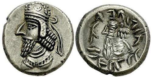 Hemidrachma Napad (Persis) Coins