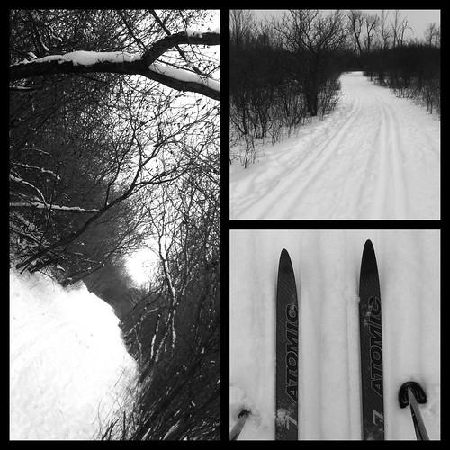 Morning Ski
