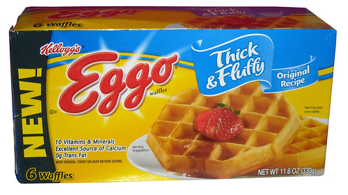Kellogg's Eggo Thick & Fluffy Original Waffles