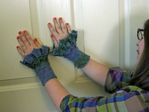 Beaded Cuffs with Hazel 2