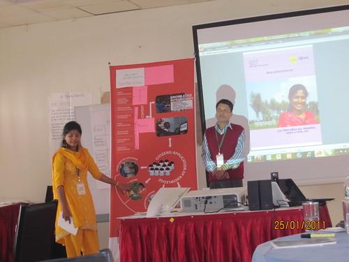 4th I-K-Mediary workshop, January 2011, Savar, Bangladesh
