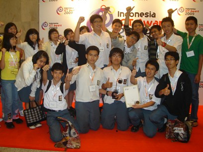 Indonesia ICT Award 2009 - NEXT SYSTEM Robotics Learning Center