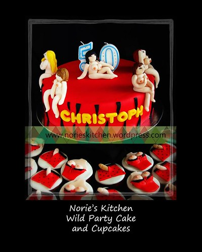 Norie's Kitchen - Wild Party Cake
