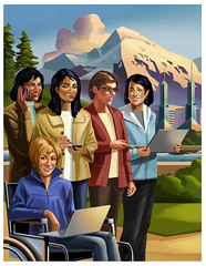 Grace Hopper 2011 Conference Poster Art