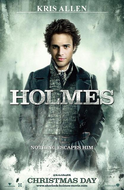 Kris Allen alter ego Sherlock Holmes manip