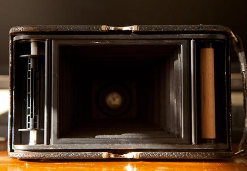 120 film on 118 film camera