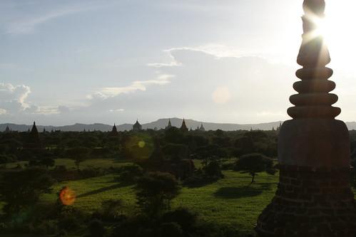 Vistas desde el Pyathada Paya