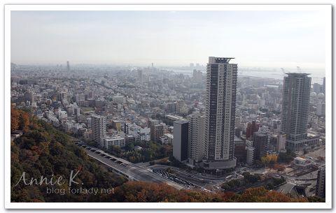 神戶_纜車俯瞰市區