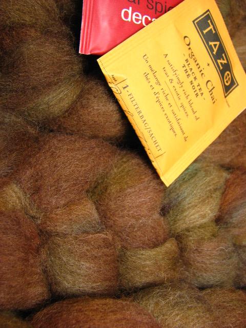 Spiced Chai, February 2011 Tiger Club - Shetland Wool
