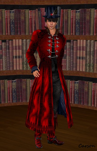 Avatar Bizarre Red Nevermore Suit  -Twisted Hunt
