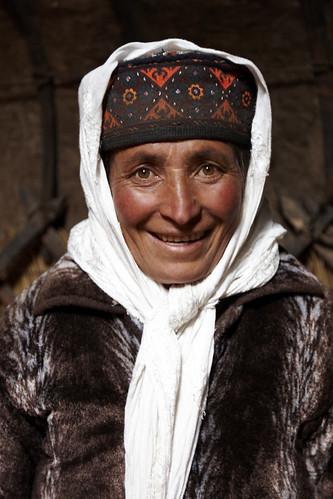 Tajik Lady by Charlie Hall
