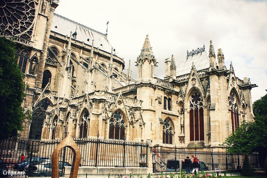 2016.10.02   看我的歐行腿  法國巴黎一日雙聖,在聖心堂與聖母院看見巴黎人的兩樣情 21